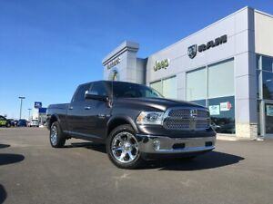 2018 Ram 1500 LARAMIE - LEATHER, SUNROOF, CREW