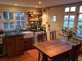 En Suite, Double Bedroom in detached country cottage.