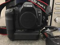 Canon EOS 5D mk2 with Canon Battery Grip