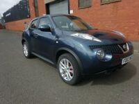 2013 NISSAN JUKE 1.6 PETROL,LONG MOT,WARRANTY MILEAGE,DRIVE SPOT ON,