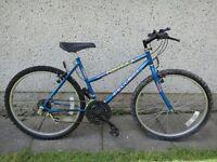 Peugeot Rad Formula blue bike 26 inch wheels 15 gears 18 inch frame