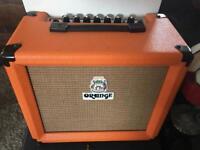 Lovely orange crush amp