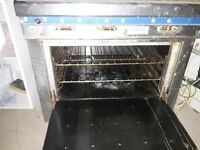 Commerical cooker with Oven Gas fired