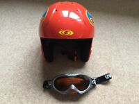 Salomon Ski Helme and Uvex Goggles