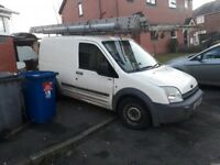 Van for sale for spares and repairs