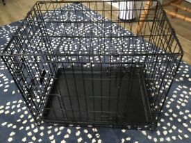 Small dog crate hardly used