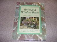 A Practical Garden Guide to Patios and Window boxes hardback book