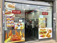 Chicken and Pizza Shop Running Business For Sale in Newham - E12