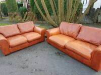 2x2 leather sofa can deliver