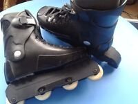 """""""Skaight"""" inline boots size 8/9"""