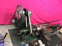 lathe in good working condition just needs a good set up