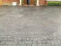 Imprinted Concrete Driveways Undertaken