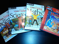 I Love Maths / Science / Spelling - PC CD-ROM by DK