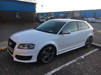 2010(60 plate) Audi S3 Quattro 2.0litre black edition with kenwood media upgrade Bose speakers
