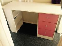 Child's desk with drawers