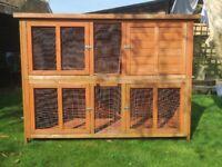 SOLD Rabbit/Guinea Pig Hutch (2 storey) SOLD