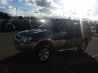 2000 X NISSAN TERRANO 2.7 SE PLUS TD 5D 123 BHP **** PART EX WELCOME ****