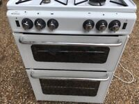 New World New Home Gas Cooker with Double Oven