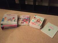 [RESERVED] Free to collector - knitting and crochet magazines