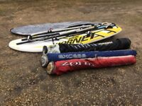 Complete windsurf Set. Bag ring in great condition.