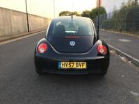 2007 Volkswagen Beetle 1.6 Petrol Manual Black