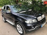 BMW X5 4.4 SPORT EXCLUSIVE 2006 AUTOMATIC SAT NAV XENON CREAM LEATHER FULL HI...