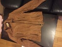 Leather jacket michael kors