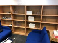 6 Bookshelves - Free and Available for Collection