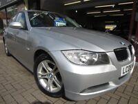 BMW 3 SERIES 2.0 320d SE 4dr (silver) 2008