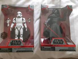 Star wars die cast figures.