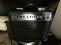 Fender Squier 15 guitar combo amplifier