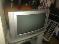 20 inch TV with remote and instructions