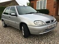 Citroen Saxo 1.1 Desire 2002 **12 MONTHS MOT, 1 OWNER FROM NEW**