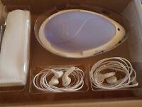 Baby heart detector. Prenatal listening system