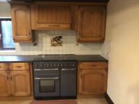 Used fitted kitchen, worktops, 2 sinks for sale. Buyer dismantles location Lincolnshire