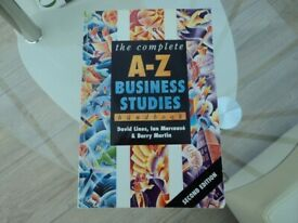'THE COMPLETE A-Z BUSINESS STUDIES' - BOOK.