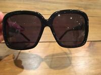Richmond black ladies oversized sunglasses