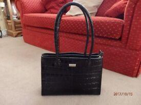 Black Osprey Handbag