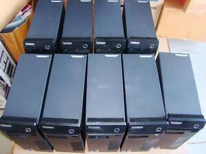 Pallet of 9 Lenovo ThinkCentre M71e Desktop