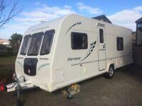 Bailey Olympus 534 touring caravan for sale. 2010