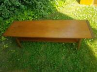 Myers mid century teak coffee table