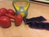 Sports equipment - boxing, tennis, camping
