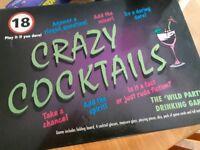 Adult board game cocktails