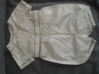 John Lewis Heirloom Collection baby satin (christening )outfit 12-18 months