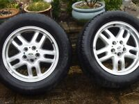 "Land Rover Discovery/Range Rover P38 5x 18"" Hurricane Alloy Wheels"