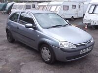 2003 VAUXHALL CORSA 1.2, MOT MARCH 2018, FSH, ONLY 76,000 MILES, ONLY £395