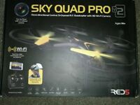 SKY QUAD PRO V2 - WiFi HD Camera Remote Control Quadcopter/Drone