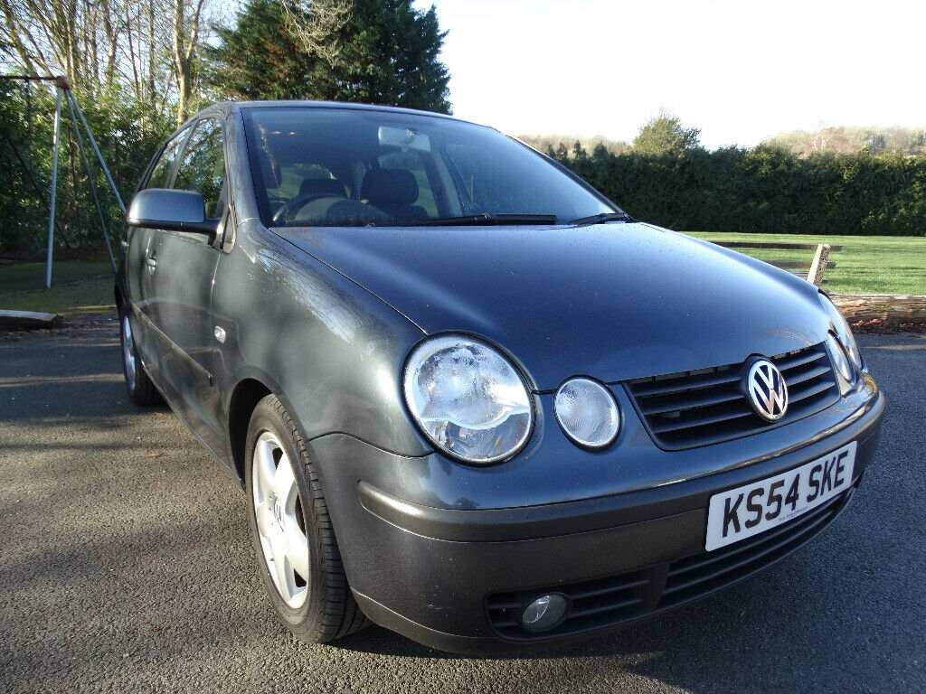 2004 54 Vw Volkswagen Polo 1 4 Tdi Grey Mot Till Oct 19 40 Mpg