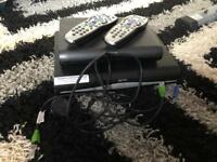 Sky hd boxe main and second box with viewing card