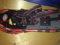 Adjustable snowshoes barely used